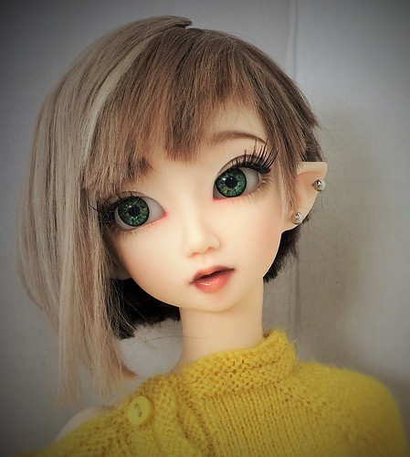 Custom faceup and wig