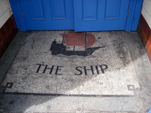 Mosaic The Ship Hackney