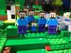 Minecraft Family Portrait