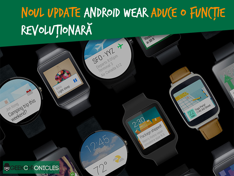 update android wear