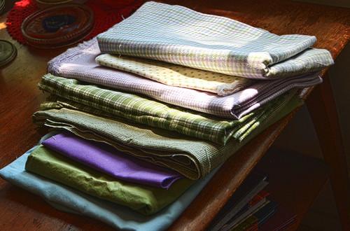Pastel Plaid Fabrics