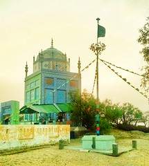 درگاہ نمانا شاہ کا ایک منظر