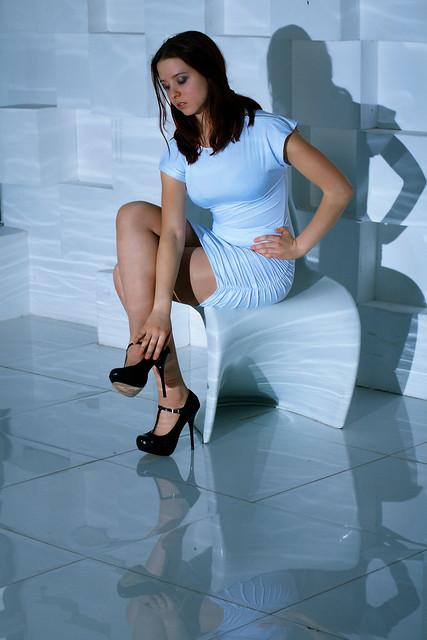 Nastya, white elegance