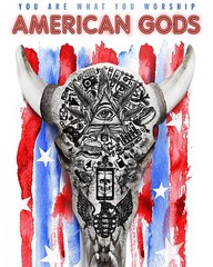 #americangods official poster for the new series on #starz by @neilhimself #geekculture #constantcollectible #booktotv #book