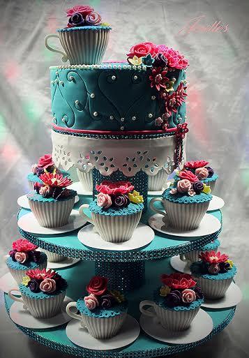 A Rainbow Cake by Josette Magri