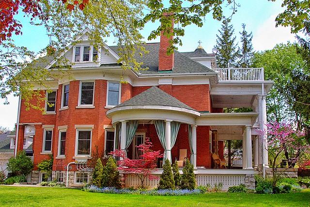 Stratford Ontario ~ Canada ~ 210 Water Street ~ George McLagan Mansion
