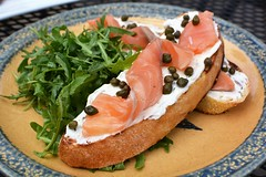 Gravlax on Toast (Explore)