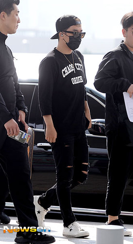 Big Bang - Incheon Airport - 24sep2015 - Newsen - 05