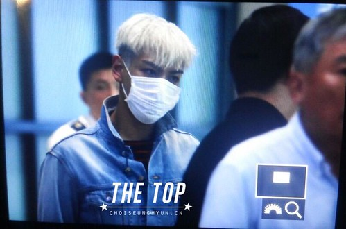 Big Bang - Incheon Airport - 02aug2015 - The TOP - 01