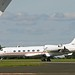 A9C-BHR GULFSTREAM G450 BAHRAIN ROYAL FLIGHT LANDING NEWCASTLE AIRPORT