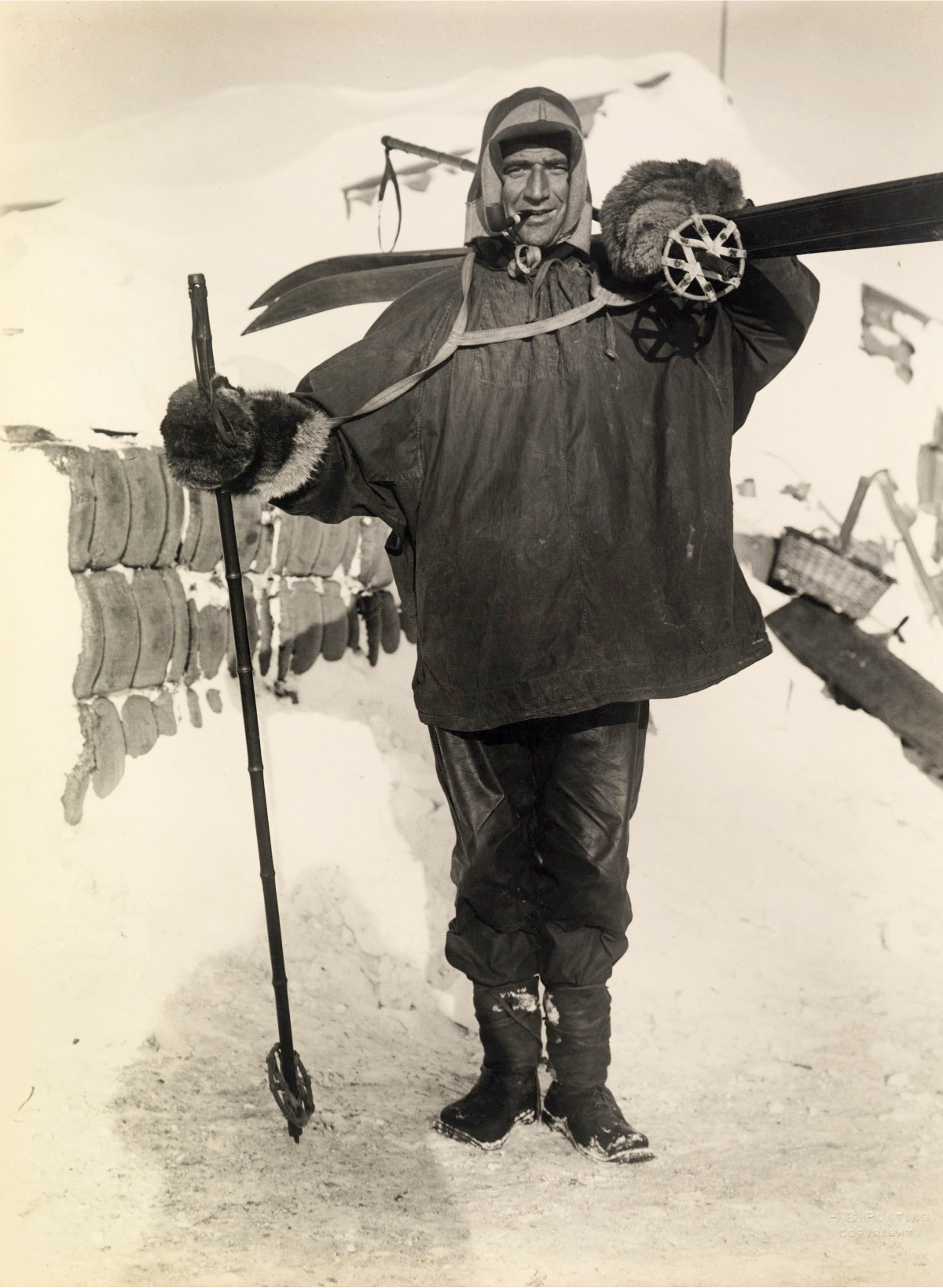 Petty Officer Crean, Scott's Antarctic Expedition, c. 1911