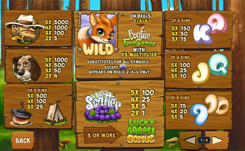 free Foxy Fortunes slot mini symbol