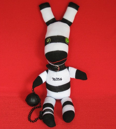 Sock Creature ROCKO the Doorman/Bouncer