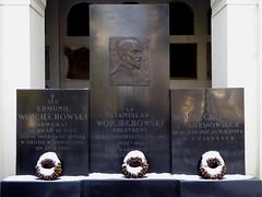 The grave of Stanisław Wojciechowski in Powązki cemetery