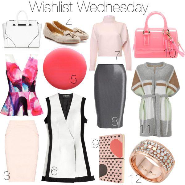Wishlist Wednesday Office Lady I www.StylebyCharlotte.com
