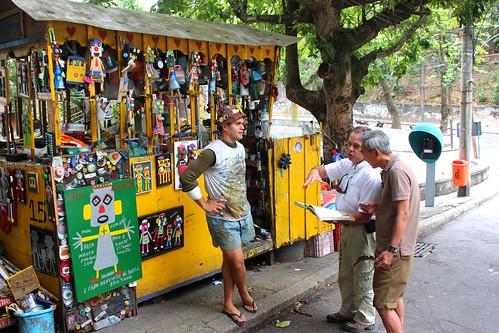 IMG_0453/Rio De Janeiro/Santa Térésa Aréa/Work Shop of Artist Chamégo Bonzolandia/