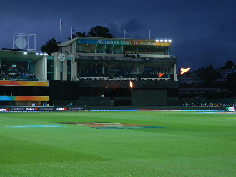 Twilight at Bellerive Oval