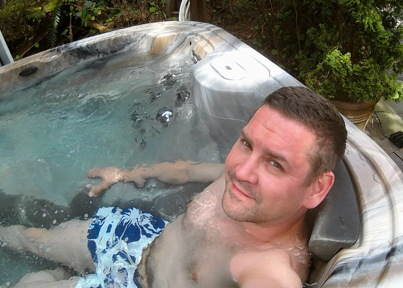 I am going to miss the hot tub!