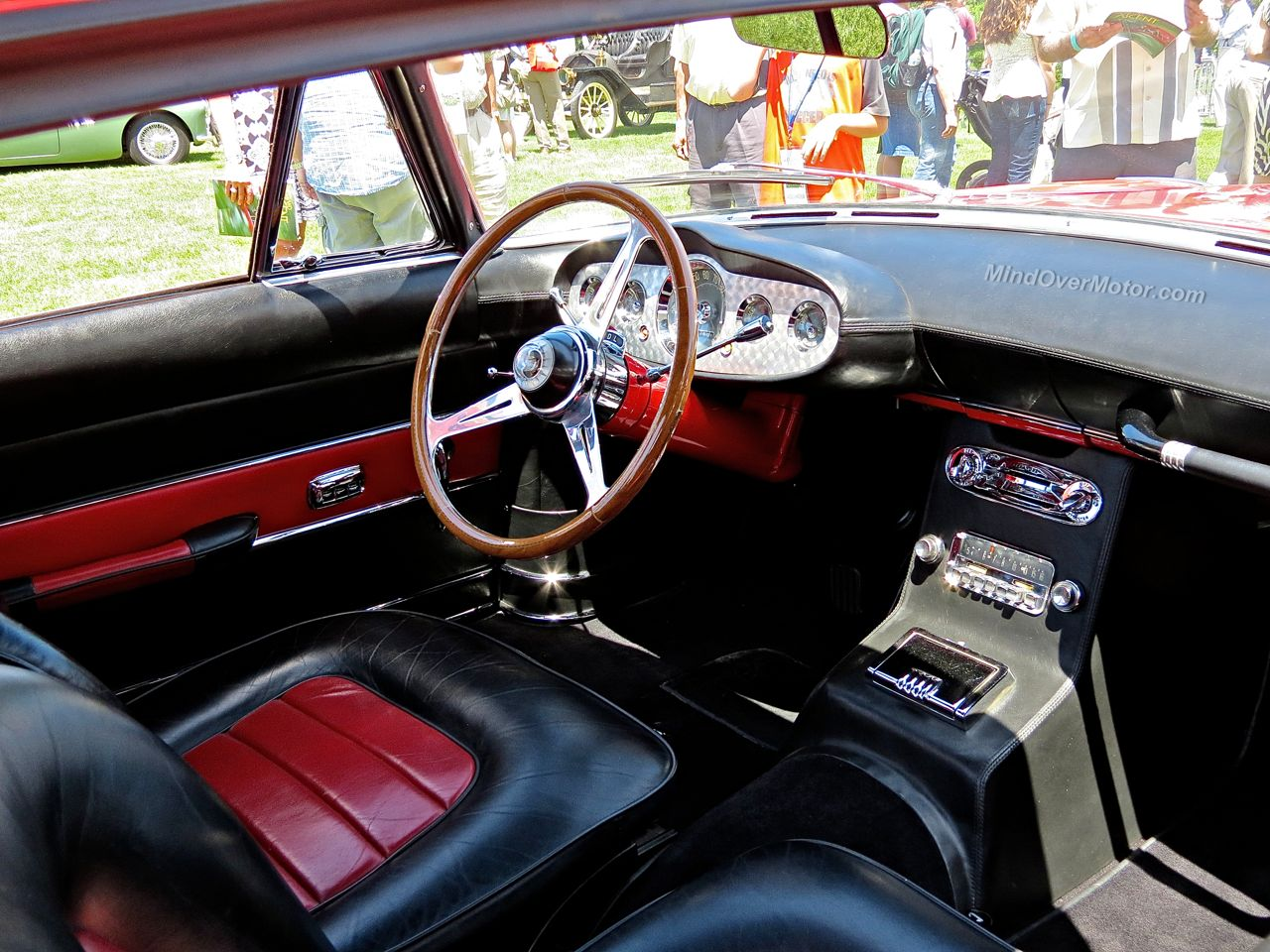 Desoto Adventurer II Ghia Coupe Interior