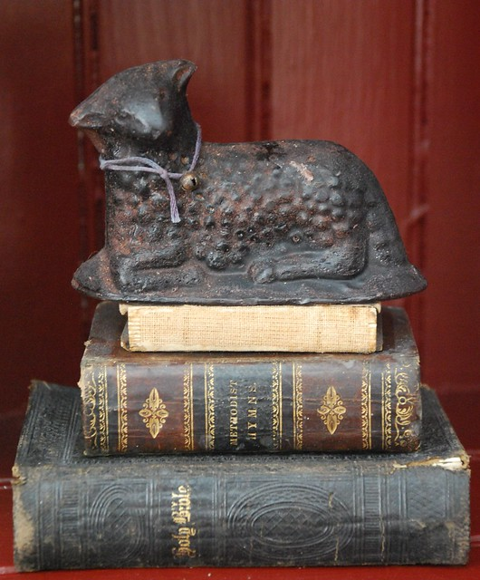Black Wax Sheep and Mini Books
