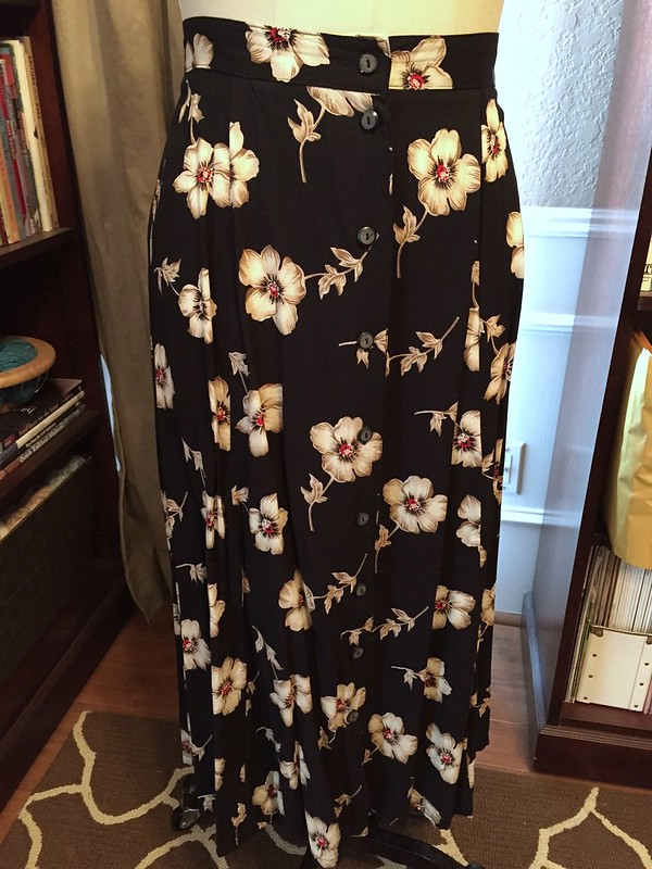 Kimono-esque Dress - Before