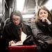 Paris, line 14 : Nosy girl ! (Curieuse !) by fcafca