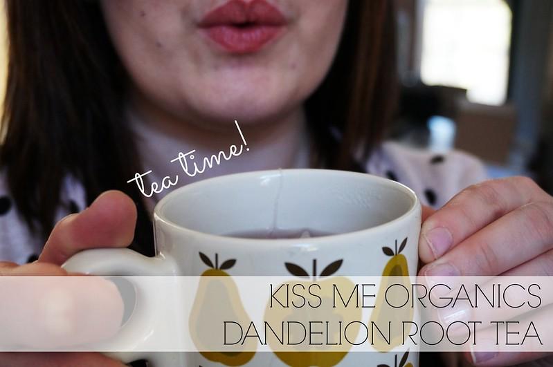 Kiss Me Organics Dandelion Root Tea 2