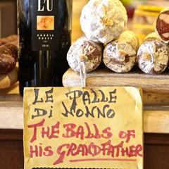 Granddad's balls!