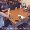 Playing Gloom (we also played: Takenoko; Betrayal at the house on the hill and Tsuro) - a great day. #tabletopday15
