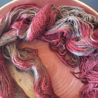 Over-dyeing experiment