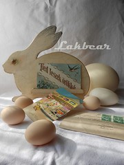 Easter postcard holder