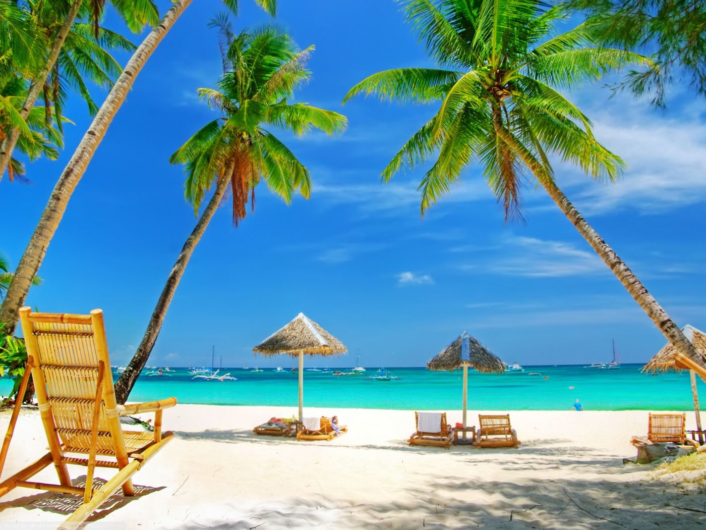 Hd Tropical Island Beach Paradise Wallpapers And Backgrounds: Tropical Paradise Beach