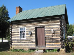 Log Cabin (the Second One) at Clover Hill