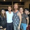 I love all of these pretty people. Yes, even you @andyruther! @lancebass @bradleywho @theyoungromans @sarimellafe @drewpokorny #BellsAndSirens