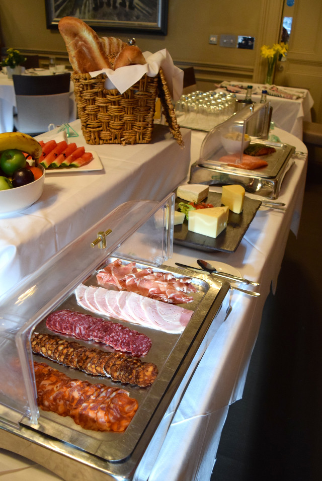 Breakfast Buffet at Jesmond Dene House