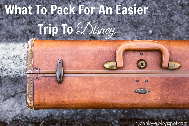 Packing ideas to make a trip to Disney easier