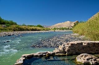 A Hot Spring on the Rio Grande (Big Bend National Park)