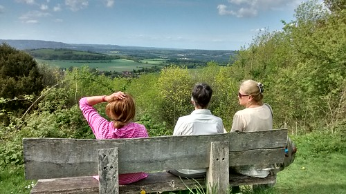 A Welcome break above South Harting