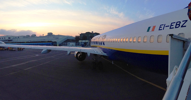 Ryan Air From Rome to Athens