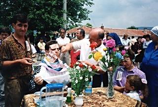 Ritual shaving of the bridegroom, Polyanovo