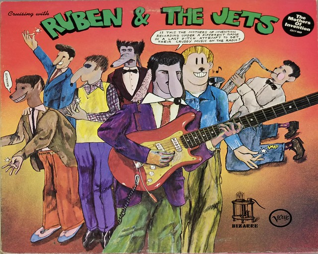 """MOTHERS OF INVENTION CRUISING WITH RUBEN & THE JETS UK GB FOC 12"""" LP VINYL"""
