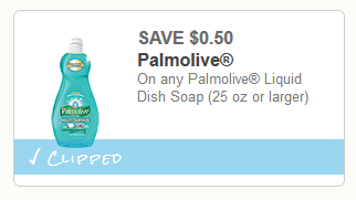Coupon - Palmolive Dish Soap