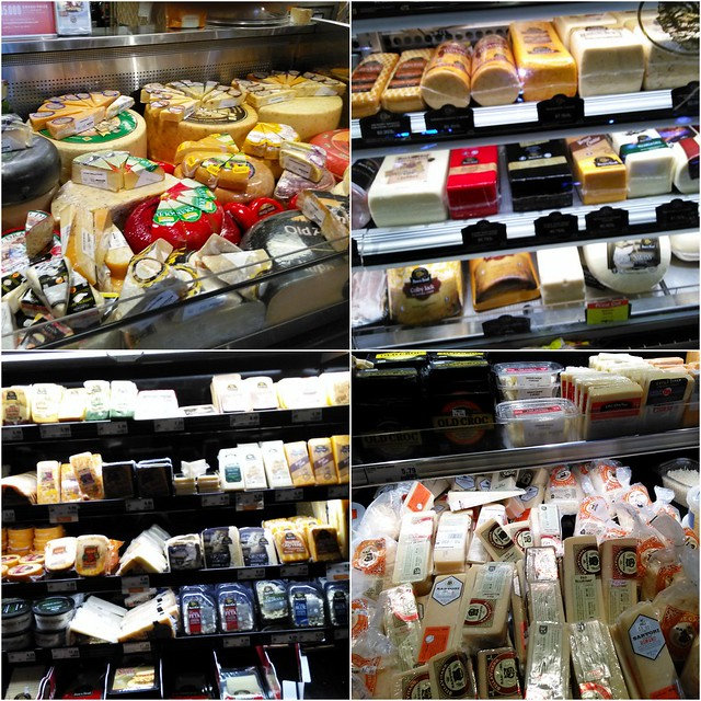 Cheese Selection at Market Street Texas