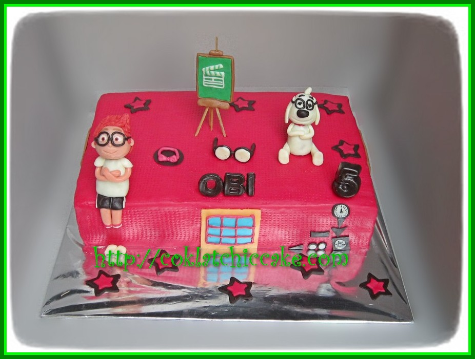Cake Mr Peabody and Sherman
