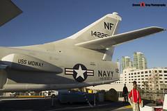 142251 NF-612 - 11577 - US Navy - Douglas EKA-3B Skywarrior - USS Midway Museum San Diego, California - 141223 - Steven Gray - IMG_6565
