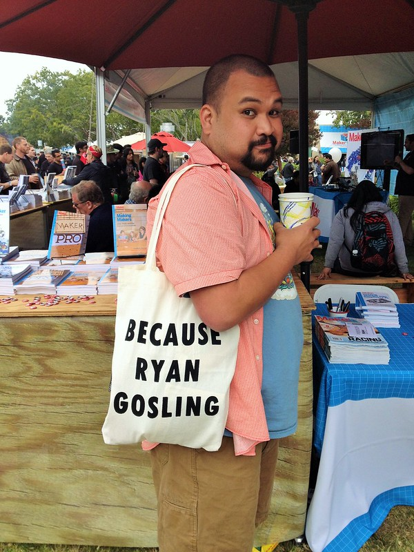 Because Ryan Gosling Bag