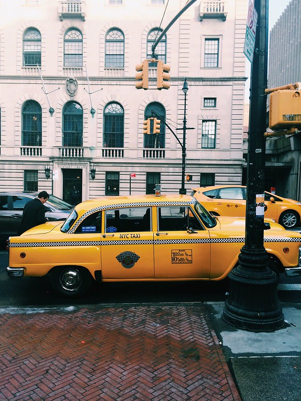 1968 Checker Cab on Amsterdam Avenue