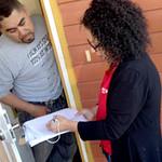 RNs, Sierra Club survey Richmond neighborhoods on health impact of coal trains