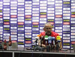 Manolo Palomeque en sala de prensa