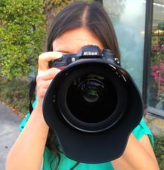 Sophia's Got a brand new lens